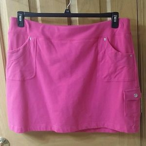 XXL pink skort looks like skirt NWOT